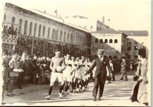 türkiyede ilk futbol maçı